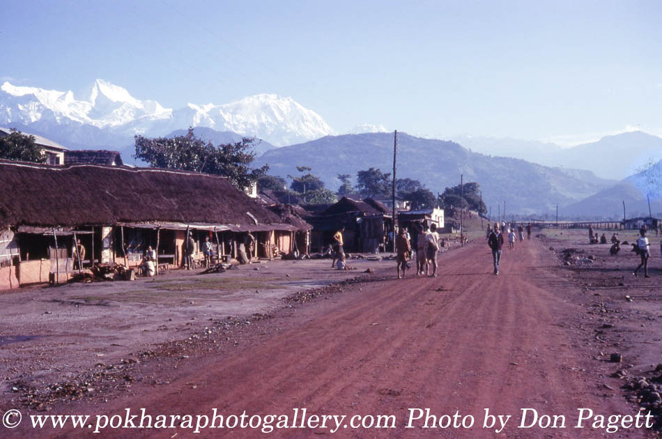 Pokhara Airport old photo 1969