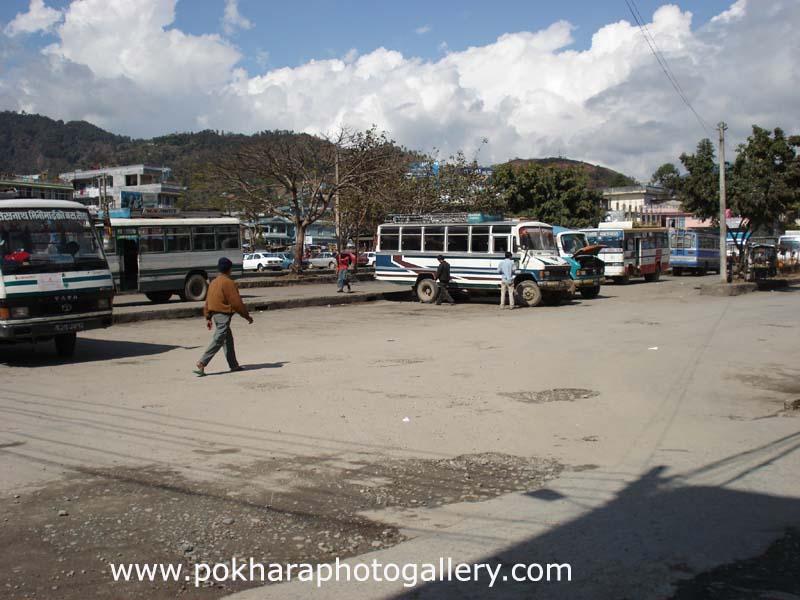Baglung Bus Park Pokhara