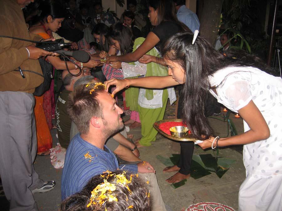 Tihar - Bhai Tika Festival in Pokhara