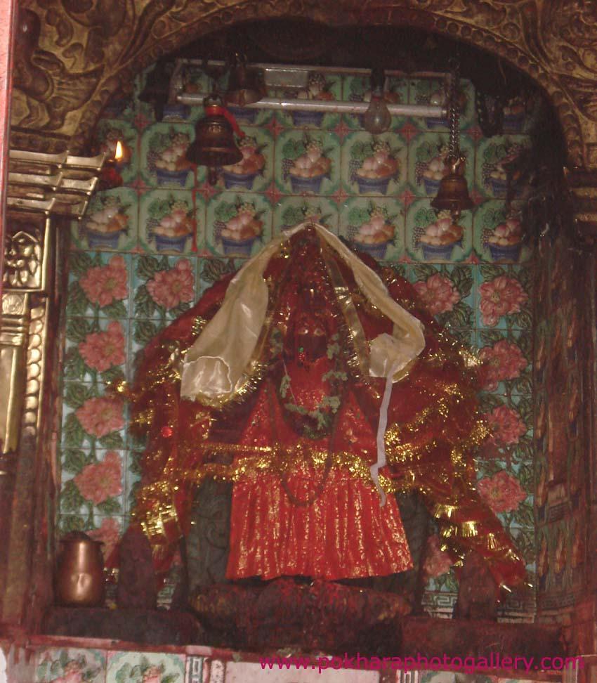 Old Photo of Bindhyabasini - Bindabasini Temple