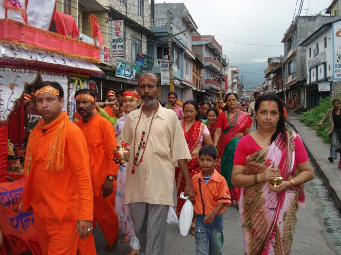 Bolbom Dham Yatra from Gaighat to Kedarshower Temple Baidam Pokhara