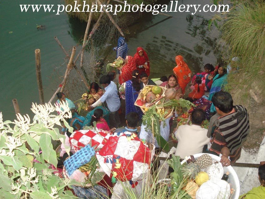 Chat Puja at Baidam Fewa Lake