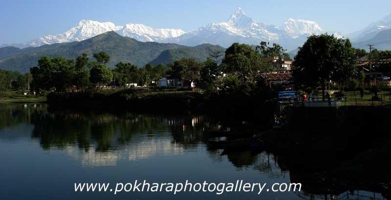 Fewa Lake Damside Pokhara