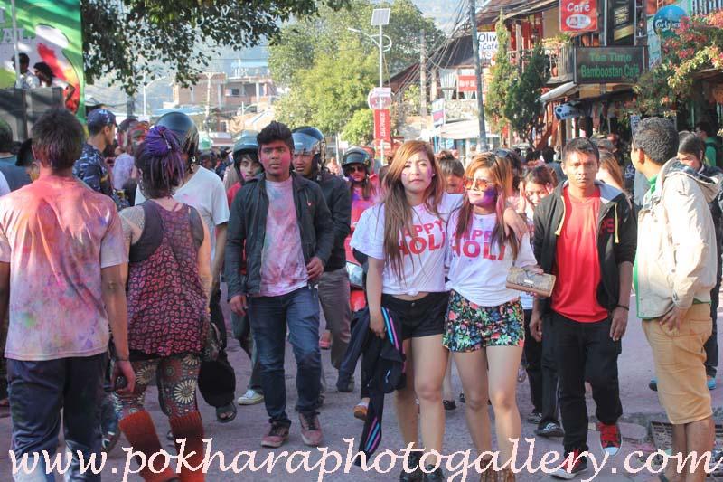 Holy Festival,Fagu Purnima,Lakeside,Pokhara,photo,