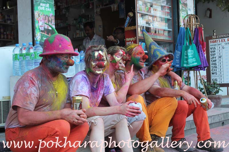 Holi Festival Pokhara