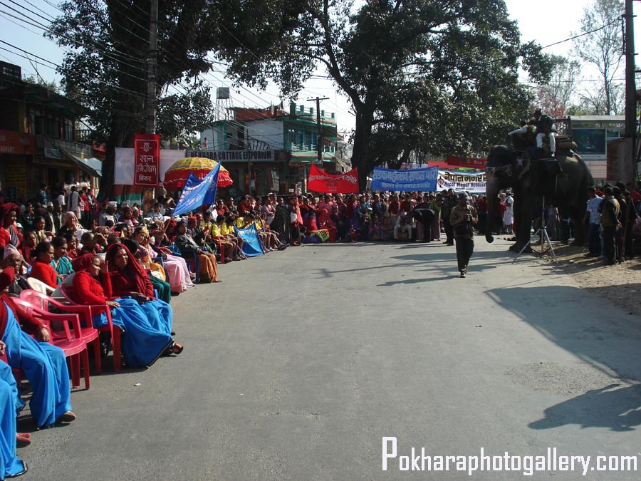 Street Festival and New Year in Pokhara