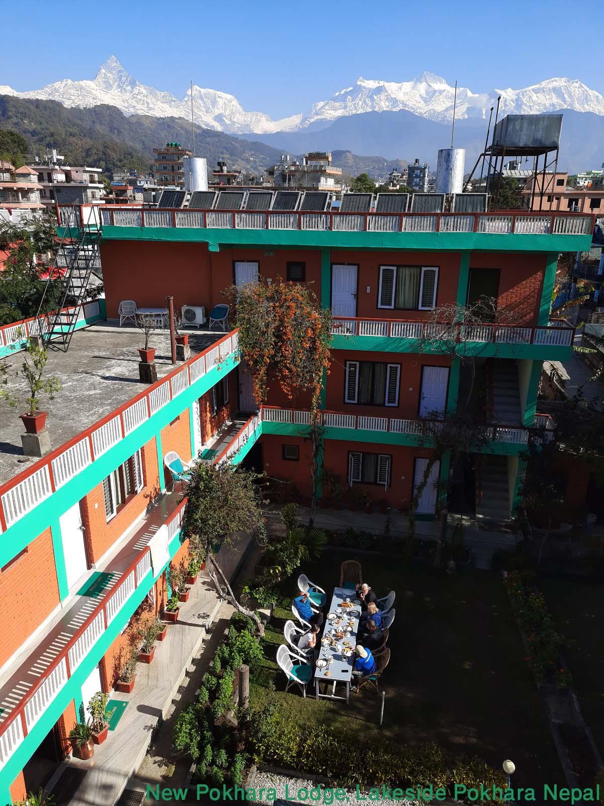 Hotel - New Pokhara Lodge